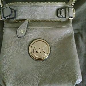 Tan Michael Kors purse